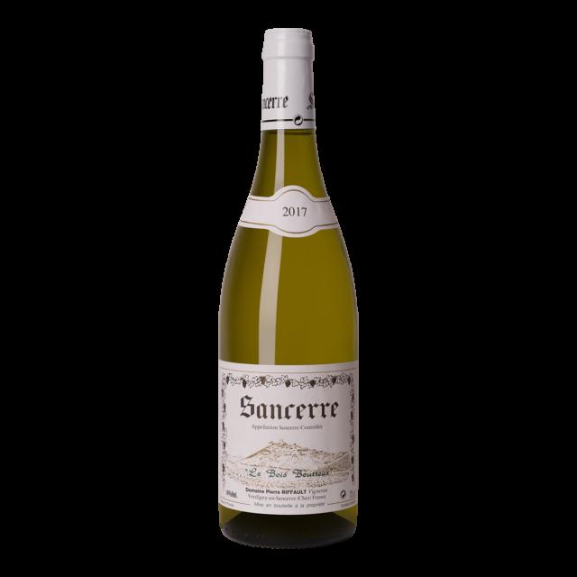 Fles witte wijn Sancerre Le Bois Boutteux