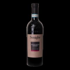 Fles rode wijn Valpolicella Ripasso Soraighe Bennati