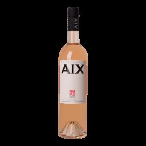 Fles rosé wijn AIX rosé Provence