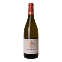 Fles witte wijn Basson Chardonnay Barrel Fermented