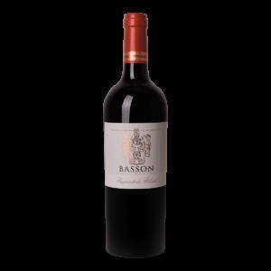 Fles rode wijn Basson Propietor's Blend