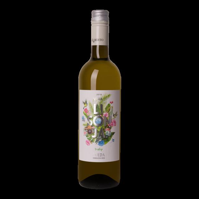 Fles witte wijn De Alberto Verdejo Lisonja