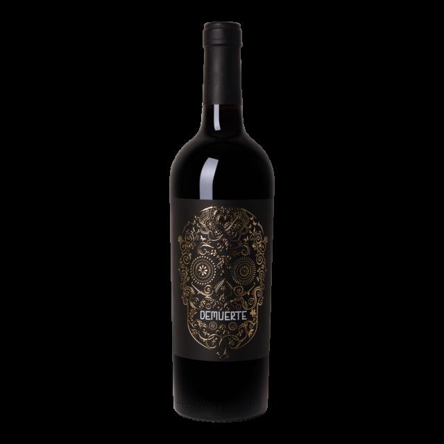 Fles rode wijn Demuerte Gold Edition