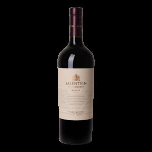 Fles rode wijn Salentein Barrel Selection Merlot