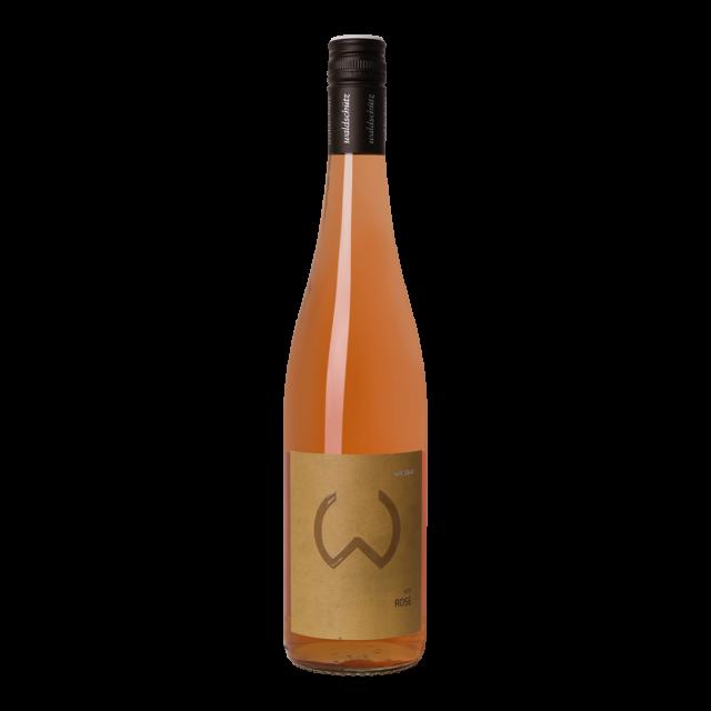 Fles rosé wijn Waldschütz Zweigelt Rosé
